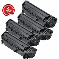 4 Pack Q2612A 12A Toner Cartridge For HP LaserJet 1012 1015 1018 1020 1022 3015