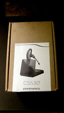 ~NEW~Plantronics CS530  Wireless Headset w/HL-10 Remote Handset Lifter 86305-01