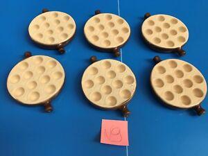 6 Piatti Padella Da Lumache 12 Fori Snails Emile Henry IN Gres Ceramica N°9