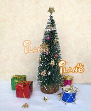 Christmas Tree Set Decoration Gift Boxes Bells Drum Stars Dolls Miniature NEW