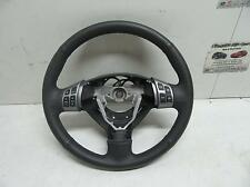 SUZUKI SX4 STEERING WHEEL LEATHER, BLACK, W/ AUDIO AND W/ CRUISE CONTROL 02/07-