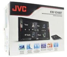 JVC KW-V240BT DVD/CD Car Stereo With 6.2 Inch Touchscreen w/ Bluetooth KWV240