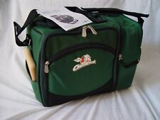 "Picnic Time ""Cheeseheads"" Malibu Insulated Cooler, Picnic Tote Hunter Green,"