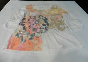 Erin London - Ladies Large - 100% Cotton - 3/4 Sleeve - T-Shirt (L)