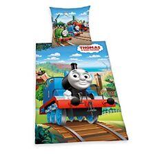 Herding 4435051050 Parure de lit pour enfant avec Imprimé Thomas et ses amis ...