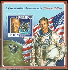 MOZAMBIQUE 85th BIRTH ANNIVERSARY OF MICHAEL COLLINS, US ASTRONAUT S/S MINT  NH