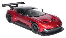 Aston Martin Vulcan Sammlermodell 12,6 cm dunkelrot metallic Neuware KINSMART