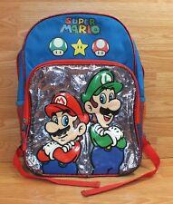 Original Offiziell Nintendo Produkt - 2013 Super Mario Luigi Rucksack/