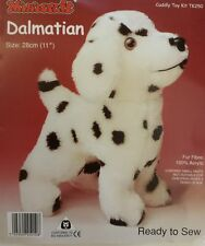 Dalmation Dog Soft Toy Kit - Make Your Own Puppy - Cuddly Fur Gift Children Sew