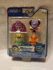 Disney Pixar Monsters University Mini Figures 4 Pack New