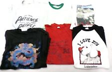 VTG 70s-80s Ringer Graphic T Shirt Indie Thin Sweat Shirts Dragon Lot 6 Mens M/L