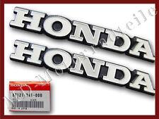 Honda CB 750 cuatro k2 tankembleme original fuel tank emblema set F - 13
