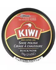 Kiwi Shoe Polish, Black /Noir 2.50 oz Premium multi-wax Instant deep shine