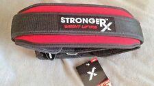 New StrongerRX  WEIGHTLIFTING BELT, Large