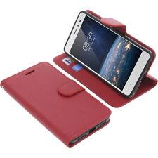 Custodia Per Tp-Link Neffos X1 Lite Book-Style Protettiva Cellulare Libro Rosso