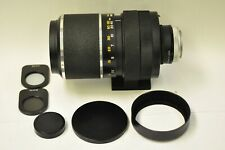Hanimex Praktica 500mm f8.0 lens with M42 mount and accessories.