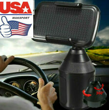 US Weather- Universal Cup Cup Holder Car Mount for Cell Phone Adjustable -Tech