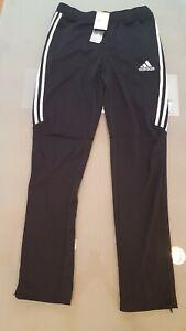 Adidas Soccer Tiro 17 Training Sweats Pants Unisex Youth Black X Large  NEW