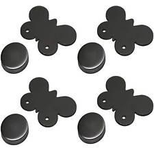 4 Tischtuchgewichte Edelstahl mit Magnet Tischtuchbommeln Tischtuchbeschwerer