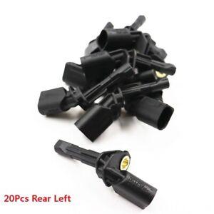 20Pcs Wheel ABS Speed Sensor For A3 S3 Q3 TT Passat B6 Golf MK5 6 Tiguan Touran