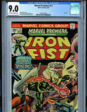 Marvel Premiere Iron Fist #17 CGC 9.0 NM1975 Marvel Comics k7