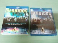 PERDIDOS LOST TEMPORADA SEASON 4 COMPLETA - 5 X BLU-RAY + EXTRAS ESPAÑOL ENGLISH