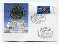 2 1/2 Experimental ECU 1993 Numisbrief Numis Letter Coin Letter Europe Germany