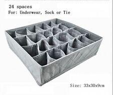 3 Set Intimo Calze Tie Storage Organizzatore Cassetto Tirare Pantaloni DIVISORE Guardaroba