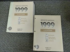 1999 Oldsmobile Olds Eighty Eight LSS Regency Shop Service Repair Manual Book