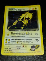 ROCKET' S ZAPDOS - HOLO - 15/132 - GYM CHALLENGE - ENG - POKEMON