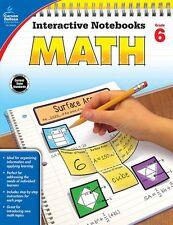 Carson-Dellosa Grade 6 Math Interactive Notebook Interactive Education Printed