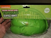 teenage mutant ninja turtles tmnt stuffed hands halloween costume child new