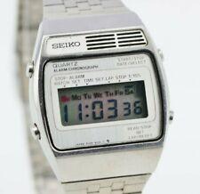 I733 Vintage Seiko Digital Quartz Watch Stainless Steel A159-4000-G JDM 129.2