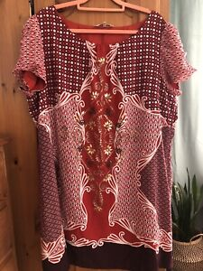 Rocha John Rocha Size 22 Tunic Dress