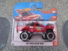 Hot Wheels 2017 # 082/365 1987 Toyota CAMIONETA PICKUP Rojo HW Caliente Vagones