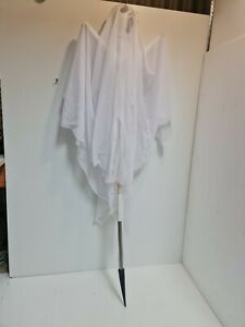 Halloween scary Ghost With Spike 110cm White fabric
