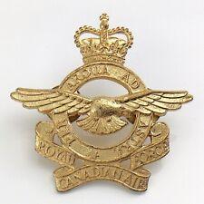 Royal Canadian Air Force Canada Cap Badge 2 Screw Posts Pin 2.25in 19.1g J102