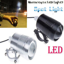 2x Silver Lights &1x Switch 12V-80V U2 30W LED Spotlight Motorcycle Fog Lamp ES