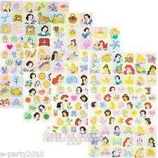 (4 sheets) DISNEY PRINCESS STICKERS ~ Birthday Party Supplies FAVORS Belle Ariel