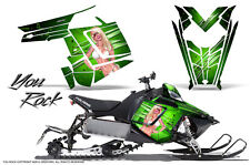POLARIS RUSH PRO RMK 600/800 SLED SNOWMOBILE GRAPHICS KIT CREATORX WRAP YRG
