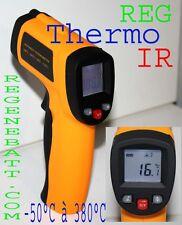 Thermomètre visée l laser sans contact -50°C a 380°C infrarouge à distance