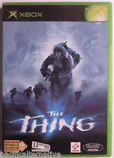 Jeu THE THING sur microsoft XBOX francais capitaine blake action aventure #1