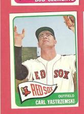 Carl Yastrzemski 1965 Topps - Boston Red Sox  EX- 385   HOF  *BG0508