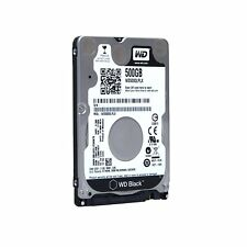 Western Digital 500GB 7200RPM SATA Laptop Hard Drive 7mm ultra thin WD5000LPLX