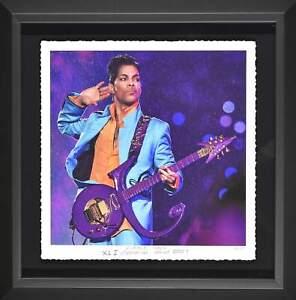 "Prince ""Super Bowl"" Purple Rain Giclee"