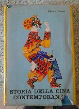 Storia della Cina contemporanea. Editori riuniti 1° ed. 1955