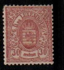 Luxembourg Scott 37 Mint hinged (Catalog Value $1000.00)