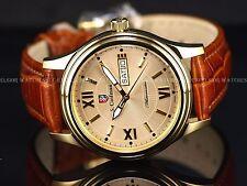 New S. Coifman Men's 40mm Swiss Made ETA 2836-2 Automatic 23KGP SS Dress Watch