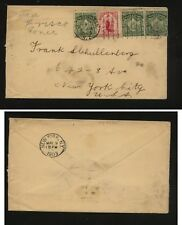 New  Zealand  cover  to  US   1903      AT0520