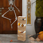 """Glitzhome 30""""H Lighted Wooden Mummy Porch Sign LED Halloween Home Party Decor"""